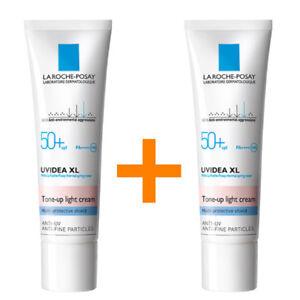 [1+1] LA ROCHE-POSAY Uvidea XL Tone-up Light Cream (30ml) SPF50+PA++++