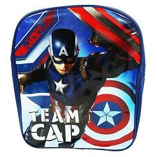 Marvel Oficial Capitanes América Gorra de Equipo {CIVIL001003} Mochila Azul