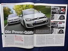 VW GOLF GTI vs. GOLF GTD-confronto-Auto Motor Sport fascicolo 13/2013