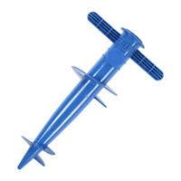 Screw In Parasol Holder Adjustable Umbrella Ground Spike Base Garden Beach Stand