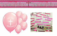 FIRST HOLY COMMUNION GIRL PARTY PACK (6)