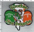 Boston FD MA Ladder 19 - Engine 2 Southie Fire Brigade Shoulder Patch