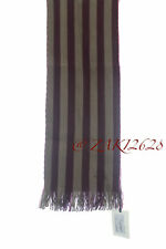BNWT PAUL SMITH MEN JEANS SCARF STRAPED COTTON H178 CM X W25 CM MADE IN GERMANY