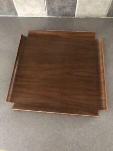 Vintage Original George Nelson 4950 Tray Table Herman Miller Walnut Top NOS MOMA