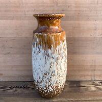 Large Vintage Retro West German Fat Lava Vase 239/41