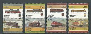 1985 Tuvalu - Nukufetau Trains set 8  Complete MUH/MNH as purchased from PO