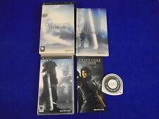 psp CRISIS CORE Final Fantasy VII Special Limited Edition + Artbook PAL UK