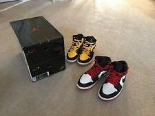 """Air Jordan 1 """"Old Love New Love"""" Pack 2007 sz 11 Great Condition OG Everything"""