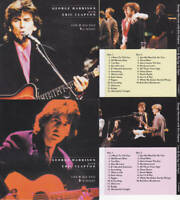 George Harrison with Eric Clapton Japan Collector's Edition 4×CD