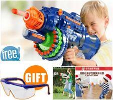 Rapid Fire Machine Gun Rifle Blaster Toy Gun Soft Bullets Darts Kids Nerf Style