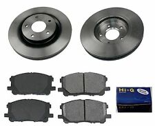 Front Ceramic Brake Pad Set & Rotor Kit for 2008-2012 Nissan Rogue
