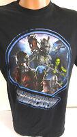 Marvel Guardians of the Galaxy Mens T-Shirt Medium Black Short Sleeves