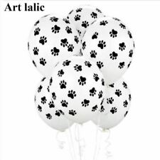 """20 Party Supplies 12"""" Patrolling Dog Paws Party Balloons Latex Balloons Birthday"""