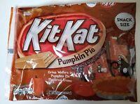 NEW 2018 Kit Kat Pumpkin Pie Flavored Creme Wafers FREE WORLDWIDE SHIPPING