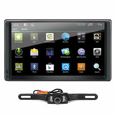 "Android 4.4 7"" 2Din InDash Car NO DVD Radio Stereo Player WiFi 3G GPS+Tablet+CAM"