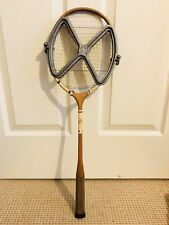 Vintage Dunlop Badminton Squash Racket First Choice Aluminum Case Very Rare!