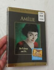 Amelie (Dvd) Brand New Sealed Audrey Tautou