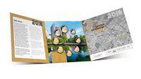 Niederlande Euro KMS 2018 Stempelglanz Satz Den Haag 1 Cent bis 2 Euro im Folder