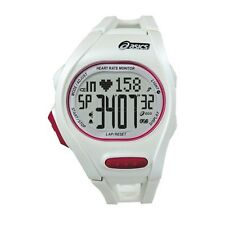 Asics AH01 Heart Rate Monitor Sports Watch ( White ) + FREE AUS DELIVERY