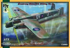Whitley Mk III (No 10 & 102 RAF Squadron MARKINGS) 1/72 Fly