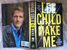MAKE ME -  Lee Child - Hardcover - A JACK REACHER NOVEL