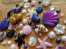 Mezclado Flatbacks, Cabujón, Decoden, Ursula, Little Mermaid, hecho a mano de polímero