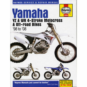 Yz Yamaha Motorcycle Manuals Literature For Sale Ebay