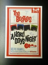 A HARD DAY'S NIGHT - BEATLES RARITIES trade card - RED 'Movie Posters' series