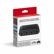 Official Nintendo Switch WiiU GameCube Controller Adapter Super Smash Bros New