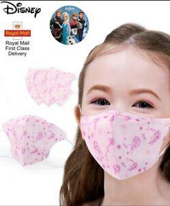 Kids Face Mask Elsa Frozen Disney Same Day Dispatch