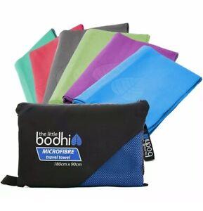 Little Bodhi Microfibre Towel Sports Gym Travel Yoga Beach Bath 150x80cm Large