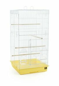 Prevue Pet Products SPECONO1818H-Y Tall Tiel Cage Yellow