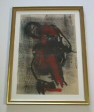 GREG LAUREN PAINTING WOMAN NUDE ABSTRACT EXPRESSIONISM MODERNISM contemporary