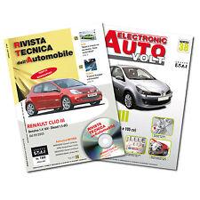 1Manuale tecnico riparazione/manutenzione+1Manuale DiagnosiAuto Renault Clio III