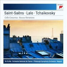 Saint-Saens: Clo Cto No 1, Orch National De France, Ma, Yo-, Excellent Import