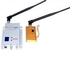 8CH Wireless 1500mw Camera Video AV Transmitter Sender Receiver