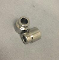 Eyelet Bushings Electroless Nickel 24.89mm width x 8mm ID Fits Fox 803-03-042