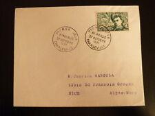 FRANCE PREMIER JOUR FDC YVERT 910    RIMBAUD   15F    CHARLEVILLE    1951