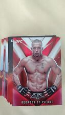 2017 Topps UFC MMA Fire RED FLAME Parallel COMPLETE 1-50 SET /142 Ronda Conor ++