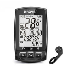 IGPSPORT Bike GPS Cycling Computer Odometer Ant+ Waterproof IPX7 with Bracket