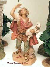 "Fontanini Depose Italy 5"" Micah w/Sheep Nativity Village Figure 72558 Nib"