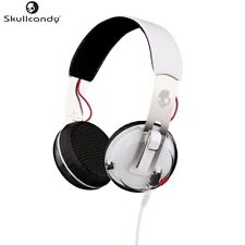 Skullcandy S5GRHT-472 WHITE Grind Headphones with Single-Button TapTech & Microp