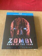 Zombi: Dawn of the Dead 4 disc Blu ray Box Set New & Sealed  Italian Release OOP