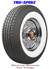 Cadillac Wire Wheel and Whitewall Tire Package from Truespoke Wheels