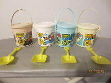 Olympic 1984 McDonalds Happy Meal Pails set of 4 With Lids c