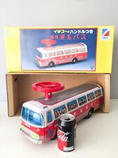 TROTTEUR Ichiko (Ride on tin plate bus) – Japan 70's NIB vintage tin toy
