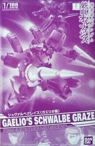 BANDAI 1/100 GAELIO'S SCHWALBE GRAZE Model Kit Gundam Iron-Blooded Orphans NEW