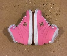 DC Rebound WNT Kids Size 11 US Youth Girl's Pink BMX Skate Shoes Sneakers