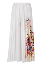 "SALE 70% off Ivan Grundahl Floral Pleat Skirt ""Opo"" Size 44 UK 16 rrp £265.00"
