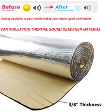 Sound Deadening Heat Shield Insulation Car Noise Killer Adhesive Mat 24